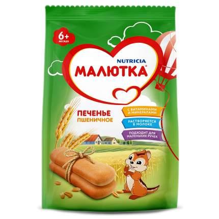 Печенье Малютка детское пшеничное, с 6 месяцев, 150 гр, упаковка из 12 шт.