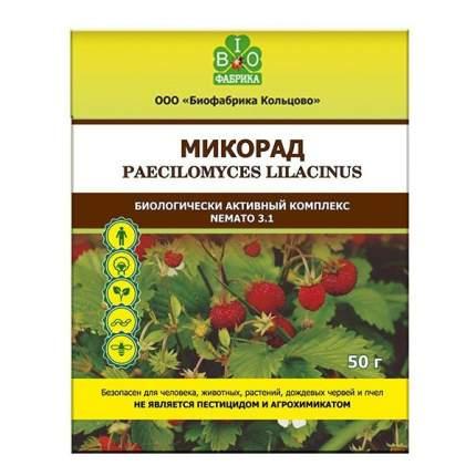 Органическое удобрение комплексное BIOФабрика Микорад Nemato 3.1. 50 г