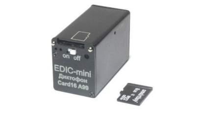 Диктофон Edic-mini Card16 A99