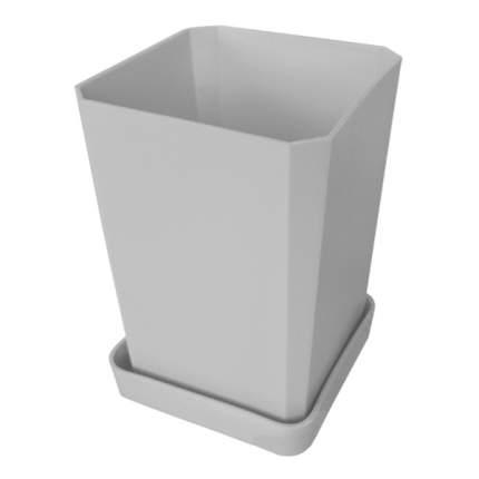 Набор горшков для рассады с малым поддоном 0,75 л Белый, 6 шт.
