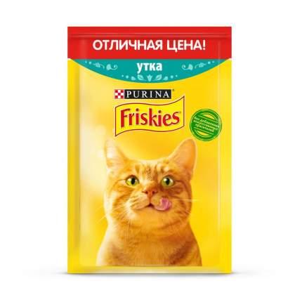 Влажный корм для кошек Friskies для взрослых, утка,  50г