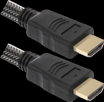 Кабель Defender HDMI - HDMI, 3м Black (HDMI-10PRO)