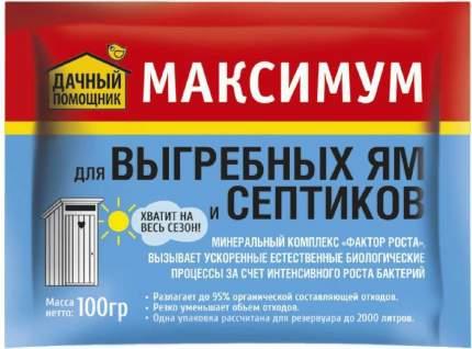 Средство для выгребных ям и септиков Максимум, 100 г