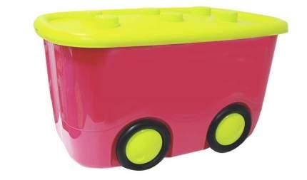 Ящик для хранения игрушек М-пластика МОБИ 55 л, цвет в ассортименте