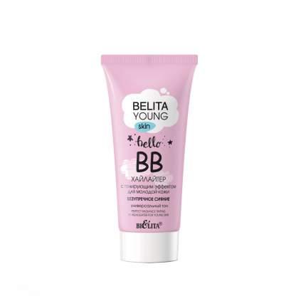 ВВ-Хайлайтер Белита для молодой кожи с тонирующим эффектом безупречное сияние, 30мл