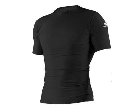 Рашгард Adidas Rush Guard Short Sleeve, black, S INT