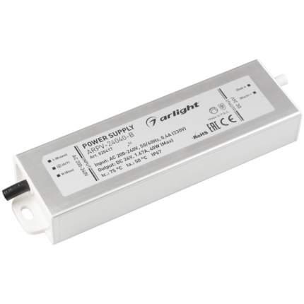 Блок питания ARPV-24040-B (24V, 1.7A, 40W) (ARL, IP67 Металл) Arlight