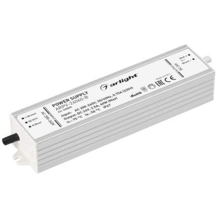 Блок питания ARPV-24060-B (24V, 2.5A, 60W) (ARL, IP67 Металл) Arlight