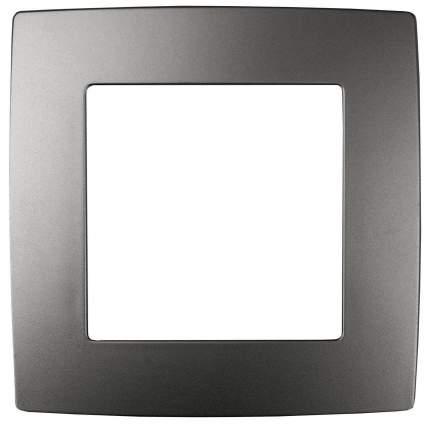 Электроустановка ЭРА Рамка на 1 пост графит Б0019366 12-5001-12
