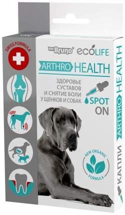 Арома-капли для щенков и собак Mr. Bruno Ecolife Артро Здоровье, 10 мл, 40 гр