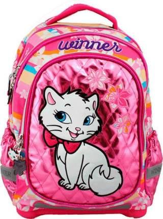 Ранец детский Winner Hello Kitty для девочек розовый