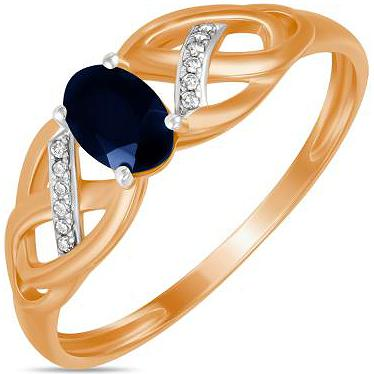 Кольцо женское Лукас-Голд R01-D-70656R001-R17 р.18.5