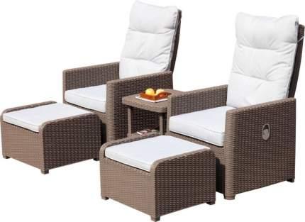 Набор садовой мебели Idea Favorit beige; dark gray 5 предметов