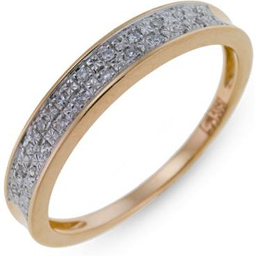Кольцо женское Лукас-Голд R01-D-1981810AD-R17 р.16.5
