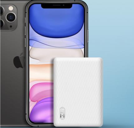 Внешний аккумулятор Xiaomi ZMI QB817 10000 mAh (White)