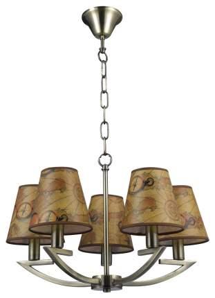 Люстра подвесная Escada Pirates 1021/5 E14*60W Bronze