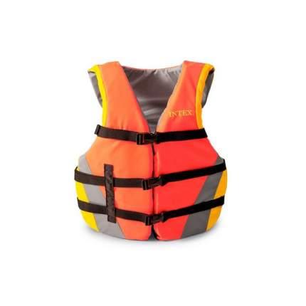 Спасательный жилет Intex 69681, оранжевый, XXL
