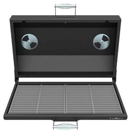 Крышка-гриль (с чугунной решёткой-гриль) Grillver для печь-мангалов Искандер 400