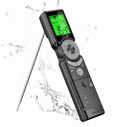 Термометр для гриля барбекю портативный LCD экраном BBQGURU
