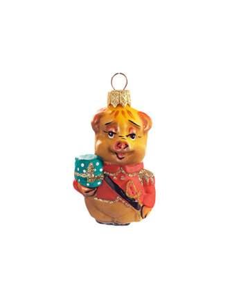 Елочная игрушка Символ года 9 см 1 шт. в ассортименте