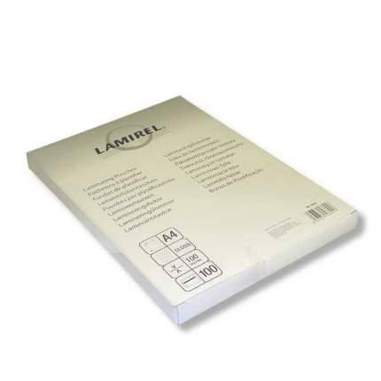 Пленка для ламинирования Lamirel А4 100 мкм глянец 100 шт