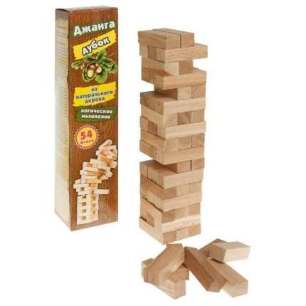 Настольная игра Задира Джанга Дубок, большая, 54 детали 0370/задира
