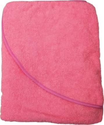 Простыня махровая Baby Swimmer Уголок, 100x100 см розовый