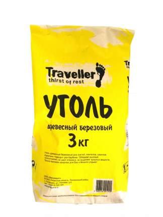 """Уголь древесный """"Traveller"""", 3 кг"""