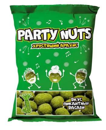 Хруст.арахис party nuts пикантный васаби 100г