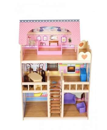 Кукольный домик SunnyWoods Варя, с мебелью Varya