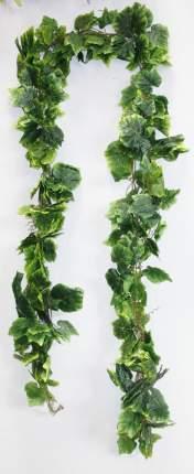 Лиана гирлянда лист винограда (зеленая)