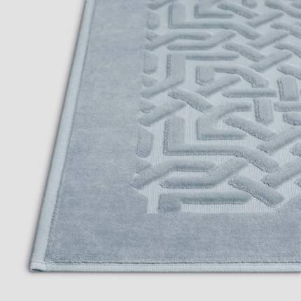 Коврик МИРА серый для ванной 70х120, 100% хлопок, 900 г/м2
