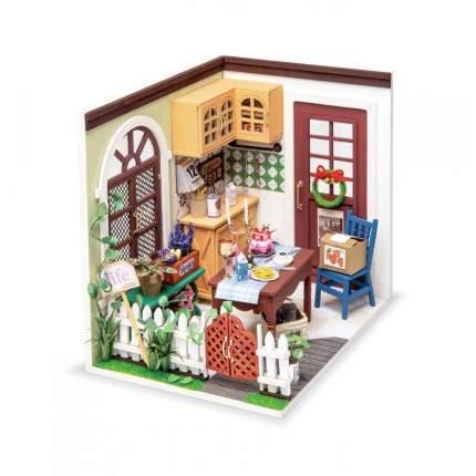 Деревянный конструктор Robotime Миниатюрный дом Спальня Анны