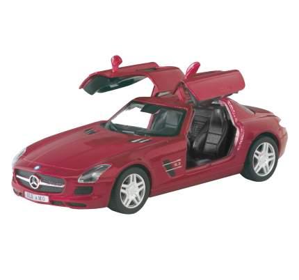 Модель машины Kinsmart Mercedes-Benz SLS AMG, инерционная, 1/36 KT5349W