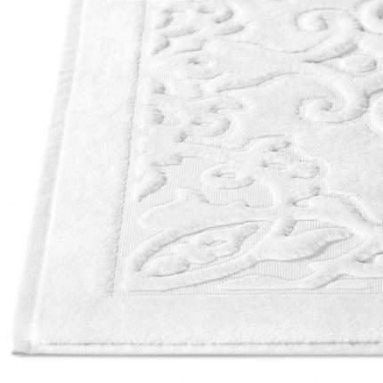 Коврик для ванной ТИРА белый 80х160, 100% хлопок, 900 г/м2