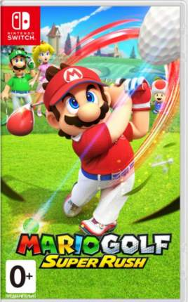 Игра Mario Golf: Super Rush для Nintendo Switch