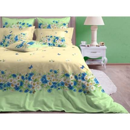 """Комплект постельного белья """"Камилла зеленый"""" Евро Хлопковый край Хлопковый Край 35464"""