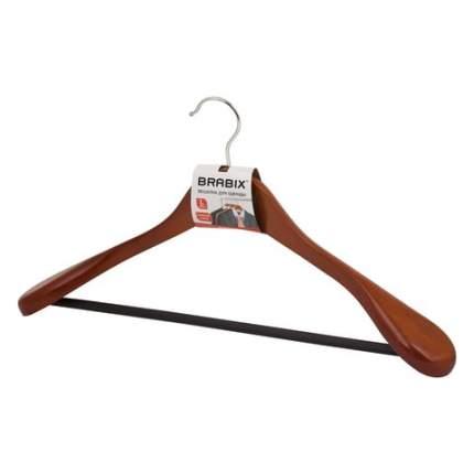 """Вешалка-плечики, размер 48-50, цвет вишня, BRABIX """"Люкс"""", 601164"""