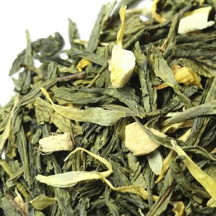 "Чай зеленый ""Лимон с имбирем"", уп. 100 гр., арт: W-312"
