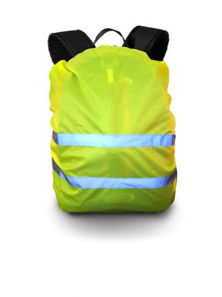 Чехол сигнальный на рюкзак, лимонный, PROTECT