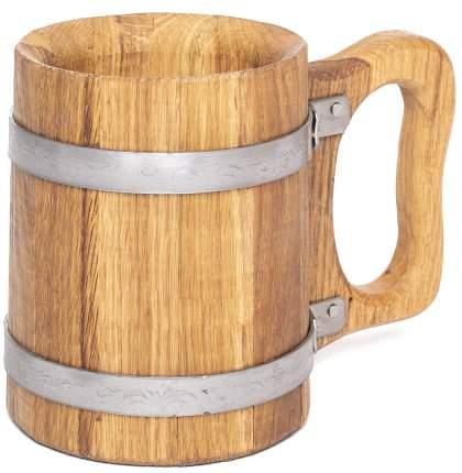 Кружка пивная дубовая 0,5 литра