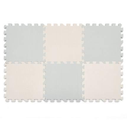 Коврик пазл Funkids Симпл-12-10 серый, 10 мм