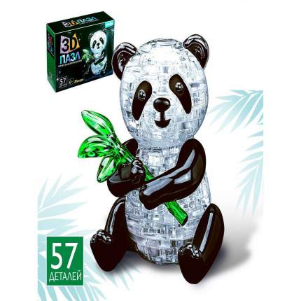 Пазл 3D Забияка Панда, 57 детелей
