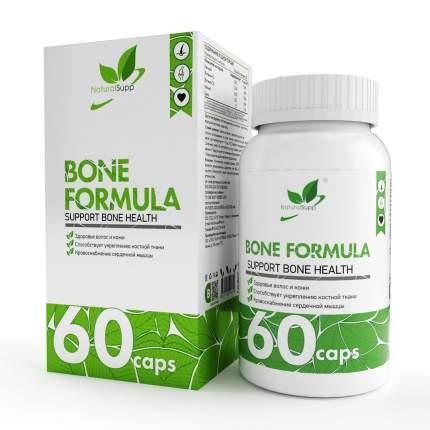 Добавка Кальций магний цинк NaturalSupp Bone Formula капсулы 60 шт.