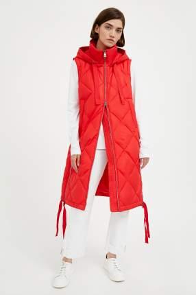 Утепленный жилет женский Finn Flare A20-32059 красный XL