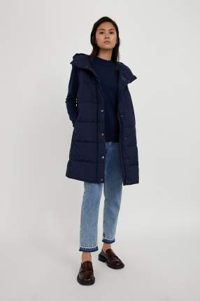 Утепленный жилет женский Finn Flare A20-11031 синий XL