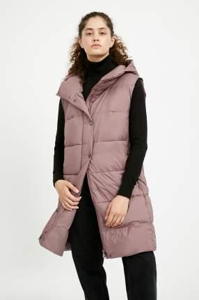 Утепленный жилет женский Finn Flare A20-11031 фиолетовый XL