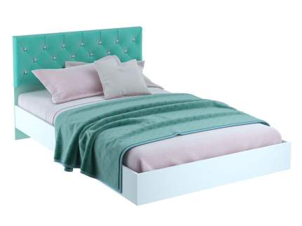 Односпальная кровать Тифани 120х200 Белый/Кенди, Без подсветки