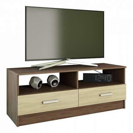 Тумба под ТВ Эра Мебель Tv 1, коричневый/бежевый
