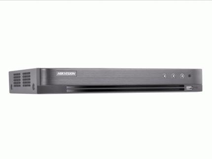 Видеорегистратор Hikvision iDS-7216HQHI-M1/FA -  16кн, 1 SATA для HDD до 10Тб Acusense